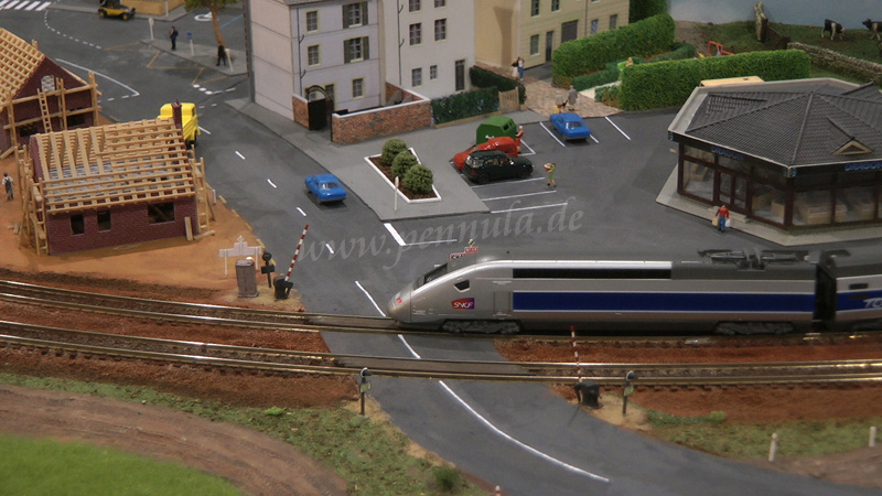 Spur N Modellbahn der Association Les N'istes Français à l'International (NFI)